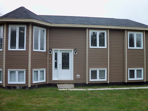 new upper  level 1500 sq ft house in portugal cove $800.00 pm