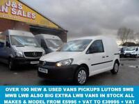 2013 13 VOLKSWAGEN CADDY VAN VW CADDY T.D.I SWB DIESEL 64000 MLS (( NO V.A.T TO