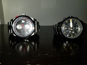 Ferrari and Armani watch for sale