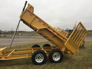 DUMP TRAILER NEW 2017 OMMANDO SERIES 712 SPRING SALE