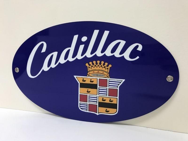 Rare Retro Cadillac  Oil Garage Reproduction Sign