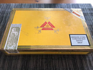 Montecristo cigars fully sealed box