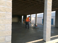 Stamp  and Decorative concrete and finishing