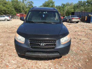 2009 hyundai Santa Fe gls  parting out