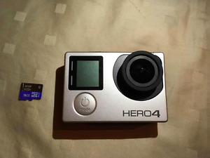 GoPro Hero 4  touch Silver