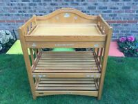 Baby changing table (Mamas and Papas)