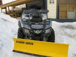to  tradecan-am atv  800   for  tractor with  front  end  loader