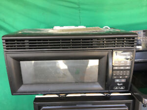 "Whirlpool 30"" over the range microwave cooker for sale"