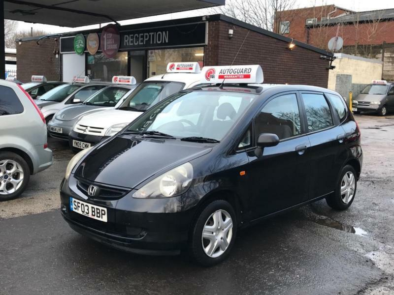 Honda Jazz Dsi S 2003 5dr Petrol Manual Black Immaculate 12m MOT 6m Warranty Inc