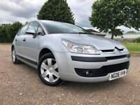 2006 CITROEN C4 1.6I 16V SX AUTOMATIC PETROL 5 DOOR HATCHBACK