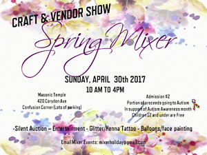 Spring Mixer Craft & Vendor Show Winnipeg Manitoba image 1
