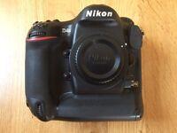 Nikon D4s Mint Condition DSLR