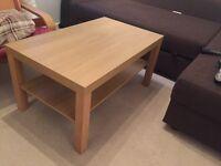 """Ikea """"Lack"""" Oak effect Coffee Table"""