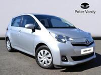 Toyota Verso-S VVT-I TR (silver) 2012-03-28