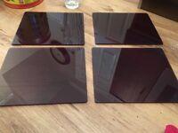 Plum table mats