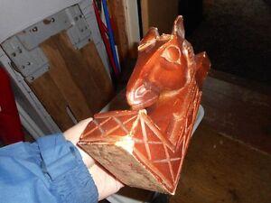 appuie livre tête de cheval en bois de cèdre Saguenay Saguenay-Lac-Saint-Jean image 1