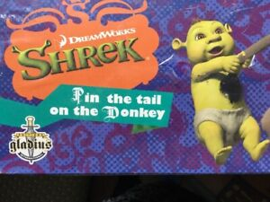 SHREK PIN THE TAIL ON THE DONKEY GAME