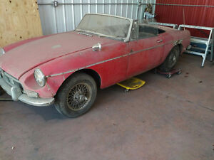 1963 MG MGB Open to Offers