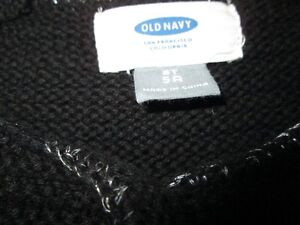 Old navy knitted dress and sweater (4T) Kitchener / Waterloo Kitchener Area image 3
