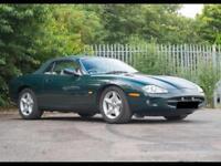 1997 Jaguar XK8 Convertible British Racing Green/Doeskin Hide 62k Miles