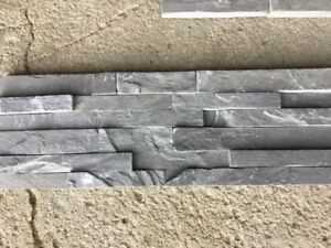 Stone tiles for fireplace (purchased from CIOT)