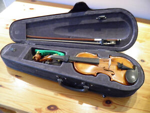 "European violin outfit ""KATO 300"" made in Romania. Size 1/8"