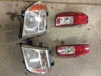 2006 Nissan Frontier OEM headlight and tail lights