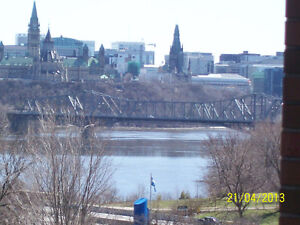 All inclusive, fully furnished, on river, walk DOWNTOWN OTTAWA Gatineau Ottawa / Gatineau Area image 1