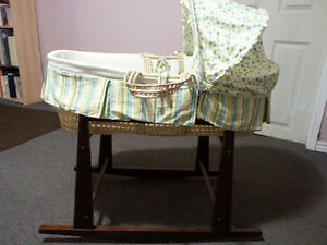 Baby Moses Bassinet and Stand