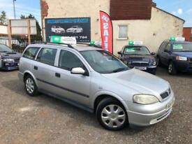 2003 VAUXHALL ASTRA 1.7 DTI LS 5 DOOR ESTATE PART X WARRANTY