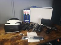 PlayStation VR with 2x Motion Controllers inc PS5 adapter