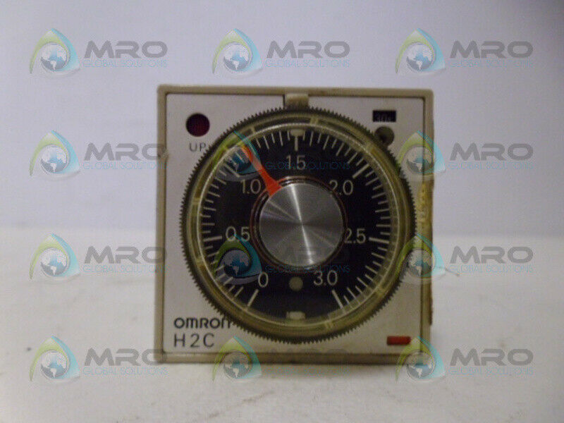 OMRON H2C-R TIMER 3.0 SEC *USED*