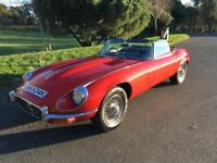 1972 K JAGUAR E-TYPE 5..3 ROADSTER UK CAR RHD