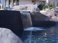 Boulders for around the pool, hide your pump, well covers etc.