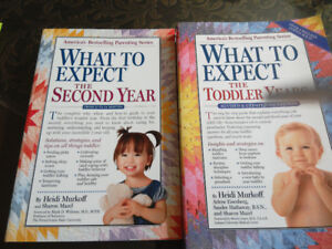 What to expect books - $5.00 each