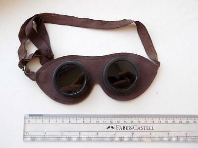 Rare Vintage Antique Soviet Welding Safety Round Protective Glasses