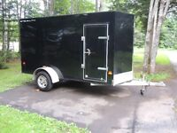 2012    stealth  enclosed trailer