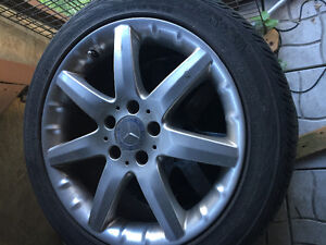 """mercedes mags set of four 17"""""""