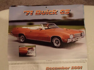 New 2001 MEMORABLE MUSCLE CARS 12 Month CALENDAR. Issued by APC. Sarnia Sarnia Area image 10