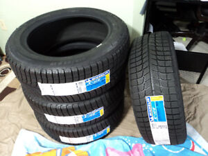 215/55R17 Michelin x-ice xi3 Four Brand New Winter tires