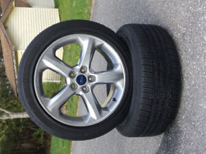 Tires, Sensors and beautiful Rims! Package deal! Great Price!!!