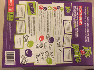 Ifs and Butts party game Peterborough Peterborough Area image 2