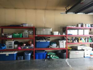 Snap-on garage/tools shelving unit