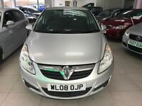 2008 Vauxhall Corsa 1.3CDTI-2 Keys - 8 Service Stamps - New Clucth - 2 FKeepers