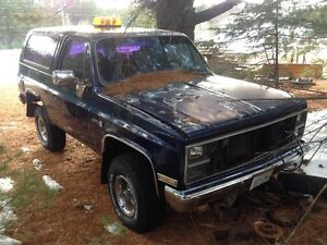 1984 GMC Jimmy k1500 Pickup Truck yard plow truck