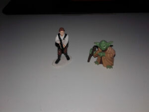 Figures de Star Wars.