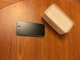 Apple IPhone 5c Blue Unlocked and Restored to fresh