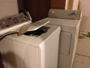 Free washer/drier