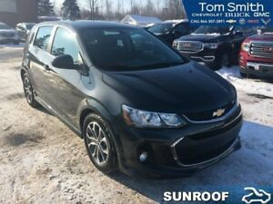 2017 Chevrolet Sonic LT  BLUETOOTH/SUNROOF/REMOTE START