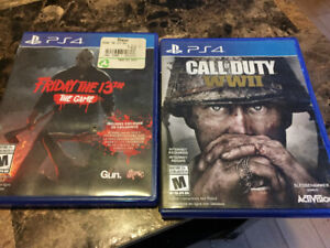 PS4 games 40 for both